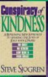 Conspiracy of Kindness - a refreshing new approach to sharing the love of Jesus with others