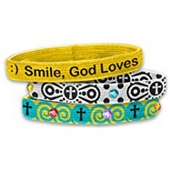 Stretch Bangles: Smile